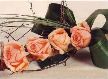 roza buket 6 Как сделать букет из роз своими руками