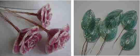 roza iz bisera 2 Роза из бисера пошаговое фото мастер класс